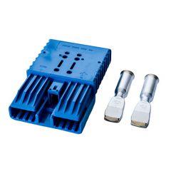 RA350/SBX350 48 V, kék akkumulátorcsatlakozó
