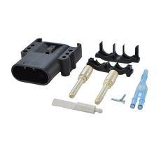 160 A DIN, 50 mm2 dugó levegőkeringtetéssel - Eaxtron akkumulátorcsatlakozó