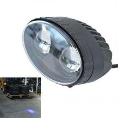 Kék pont munkavédelmi lámpa - 10-48 V, 10 W, 500 lm, 2 db LED