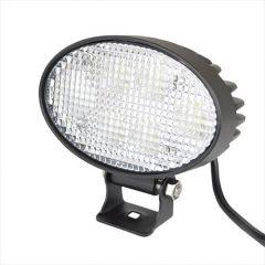 Fekvő ovális LED munkalámpa - 10-80 V, 30 W, 2400 lm