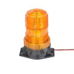 Sárga villogó LED lámpa - 10-110 V